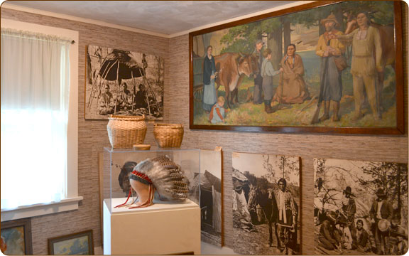 Indian Ceremonial Room - Honor the Native Americans from the Dells areae