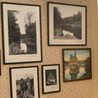 H.H. Bennet Photos line the walls of the Museum